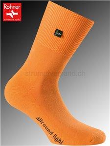 calzini Rohner ALLROUND LIGHT - 042 arancio