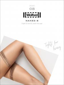 calze autoreggenti Wolford - NAKED 8