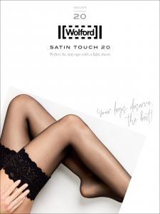 calza autoreggente Wolford - SATIN TOUCH 20