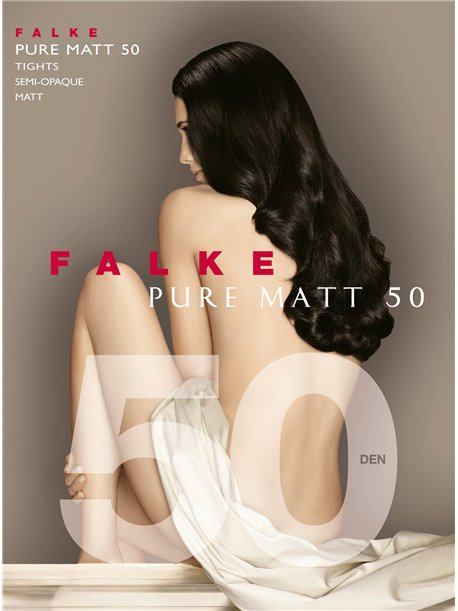 PURE MATT 50 - Collant Falke