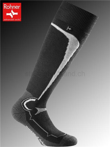 calzettoni Rohner THERMAL DELUXE - 009 nero