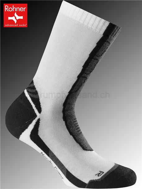 calzini Rohner NORDIC POWER - 008 bianco