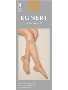 Kunert gambaletti - COTTON SOLE 20