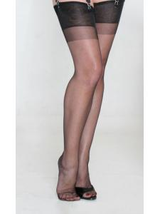 calze nylon ROMANCE - nero