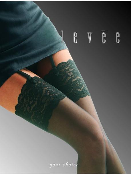 calze da reggicalze Levée - Satin Sheers