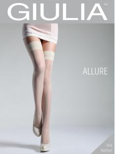 Allure - calze stay-up puntini