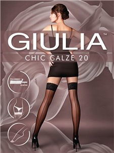 Chic 20 - calze stay-up riga