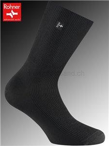 calzini diabetici - 009 nero
