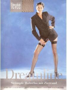 calze autoreggenti rete Dreamline