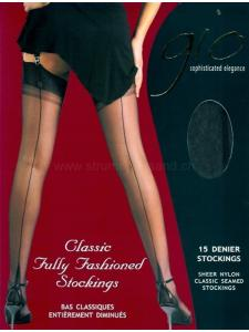 Nylons pointed heel