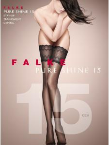 Falke PURE SHINE 15 - Calze stay-up