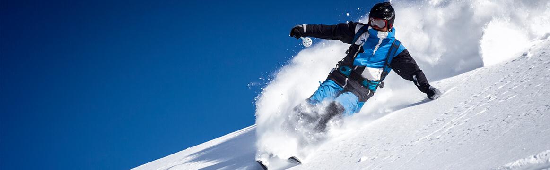 calze da sci - sciatore
