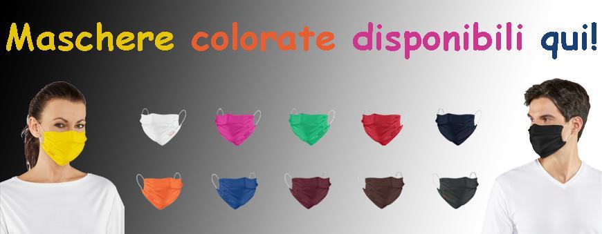 Mascherine in colori