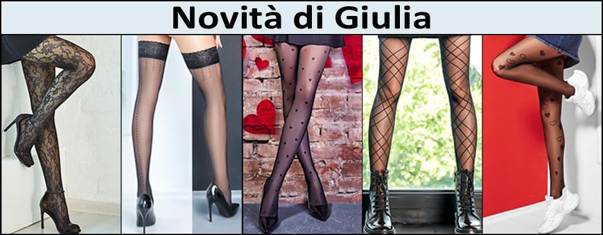 Nuovi collant e calze Giulia