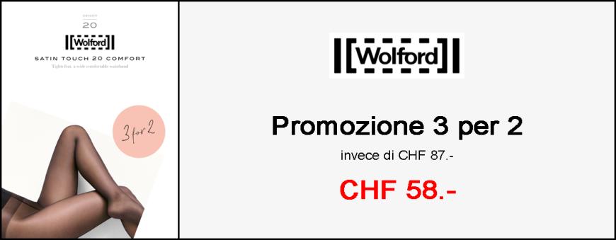 Collant Wolford Satin Touch 20 Comfort - Promozione 3-per-2