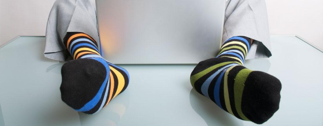 Negozio in linea per calzini a disegni