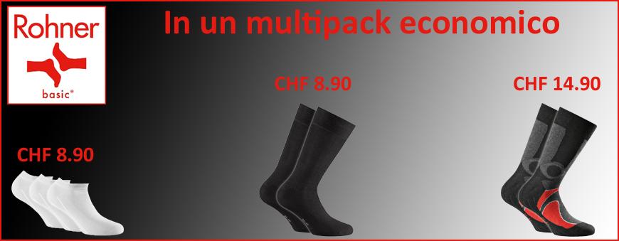 Calzini Rohner Basic multipack economico